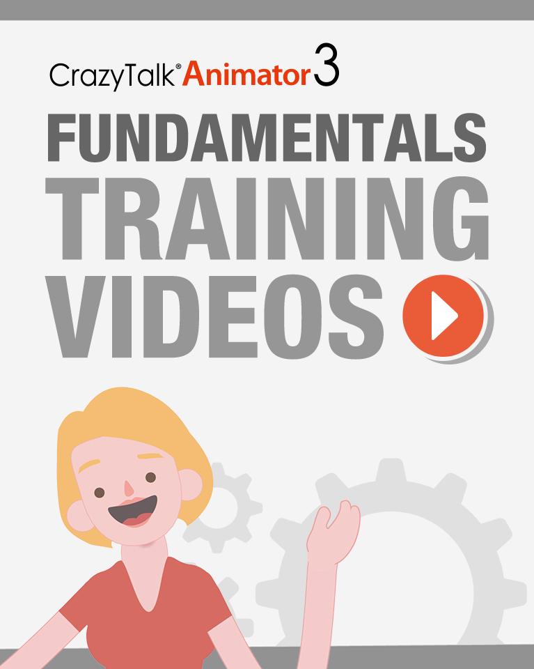 CrazyTalk Animator 3 - Fundamentals Training Videos