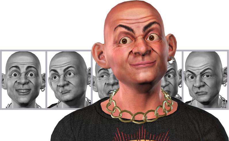 Facial Animation - CrazyTalk