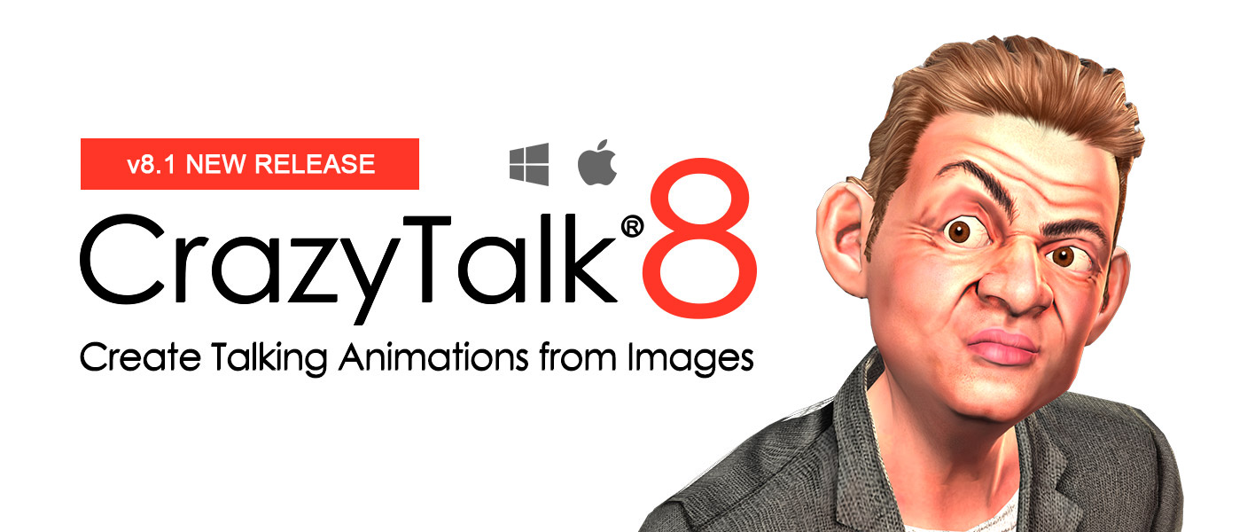 Talking Avatar and Facial Animation Software - CrazyTalk