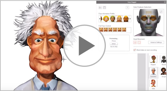 Generate 3D Face with the Smart Facial Animation Editing