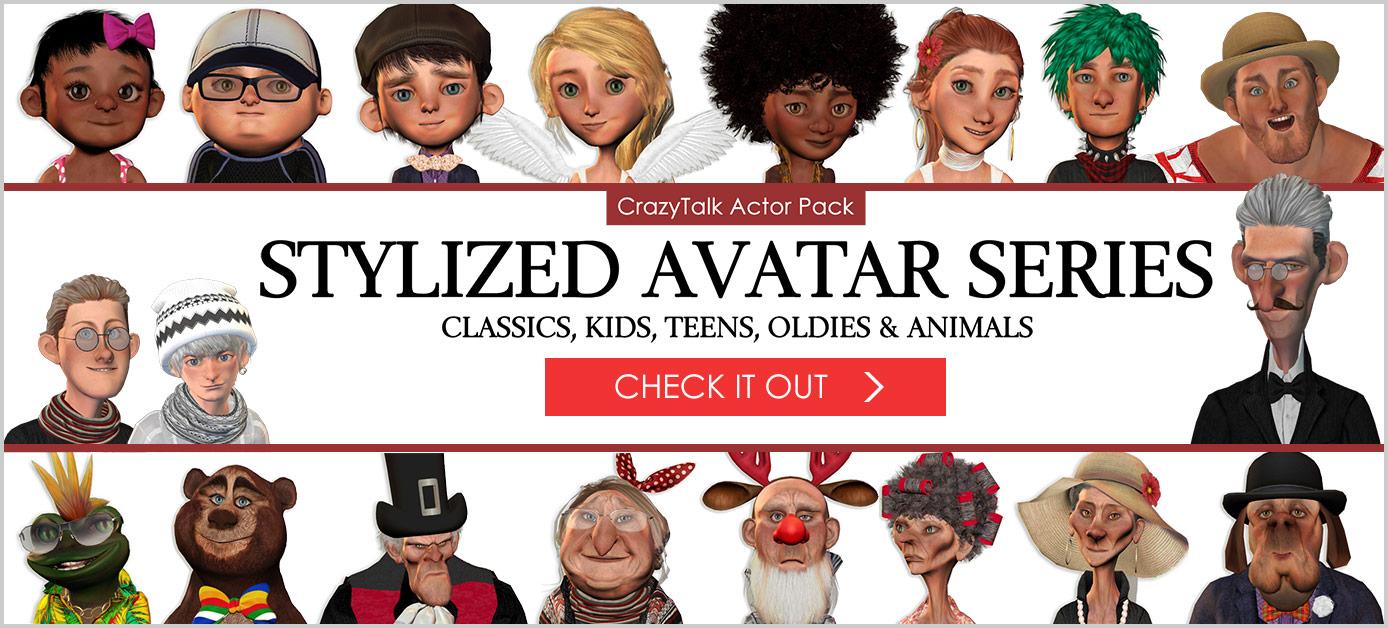 Create Your Own Talking Avatars - CrazyTalk Avatar Creator