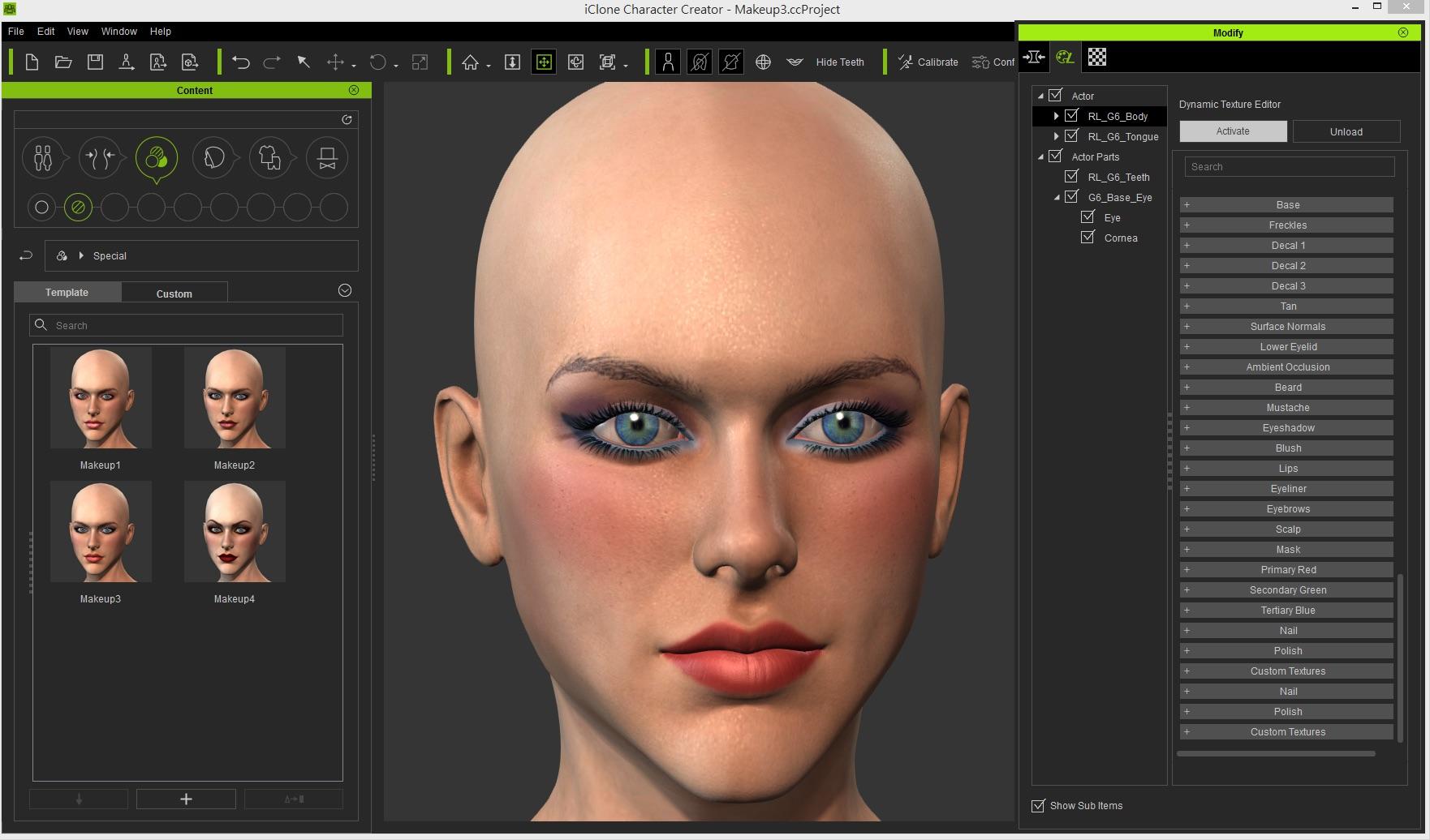 Free 3d Design Software Online Character Creator Benutzeroberflache