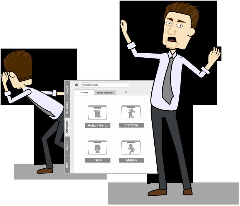 CrazyTalk Animator 2 Funktionen - Erlebe 3D in der 2D Animation