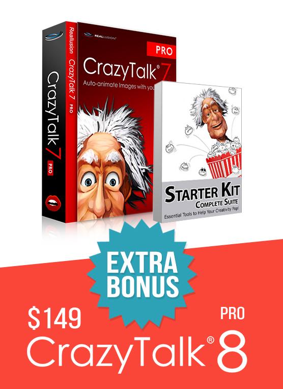 CrazyTalk 8 - Trial Upgrade Special