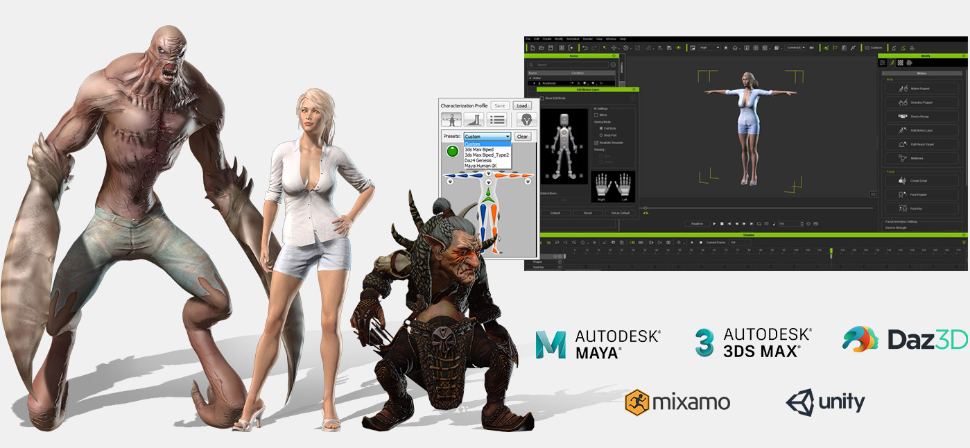 3D Character Maker and Creator | iClone