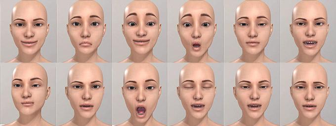 Expressive facial animation