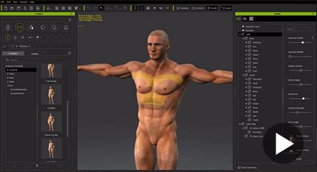 Reallusion iClone Character Creator 2016 3D Character Design
