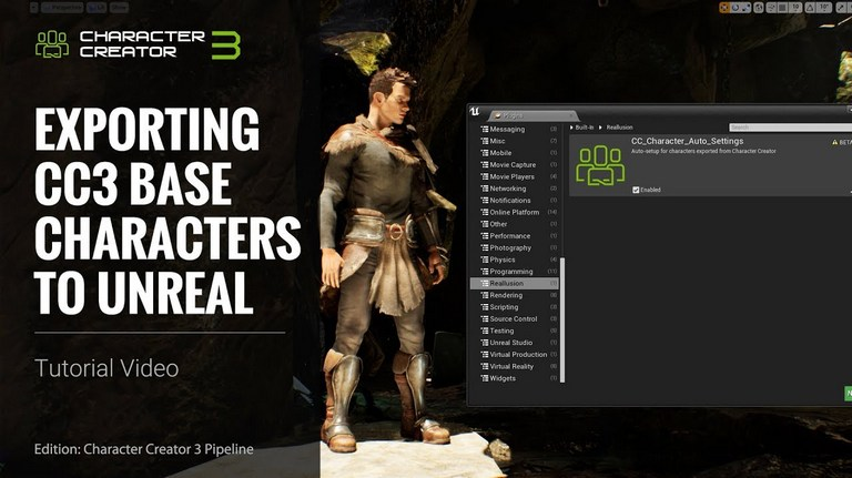 3D Game Character Design Platform - Reallusion iClone