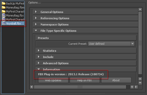 Exporting FBX to 3D Tools