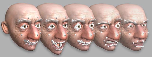анимация рта