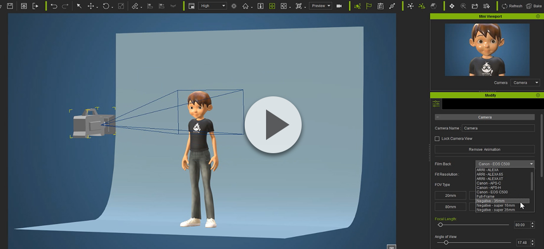Iclone 7 0 what 39 s new professional animation for Perfect bake pro system