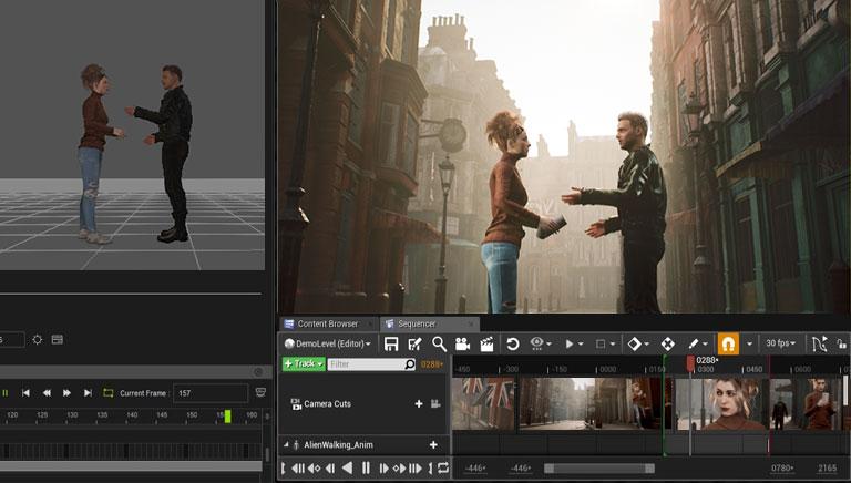iClone Unreal Live Link - Fusion of iClone Creativity