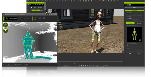 iClone Mocap Plug-in for Kinect - Applications