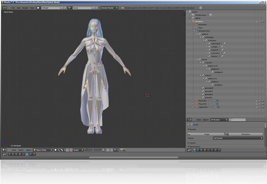 iClone Animation Pipeline - Character Blender Import