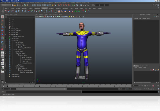 iClone Animation Pipeline - Character Maya Import