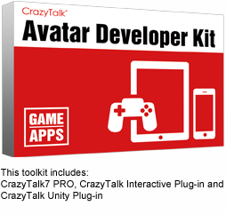 Unity Talking Avatar | CrazyTalk Interactive