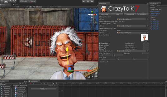CrazyTalk Unity Plug-in