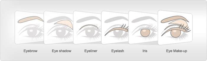 Eye Makeup Template – images free download