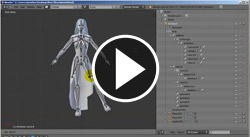 3D Character Animation, Characterization and Motion Conversion