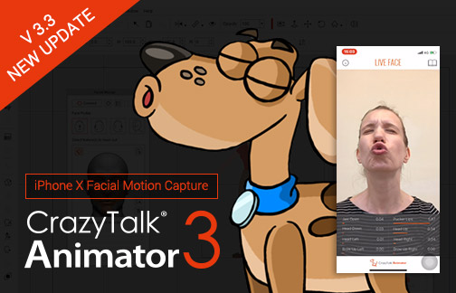 CrazyTalk Animator - LIVE Face
