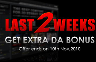 Last 2weeks!Get Extra Bonus Now!