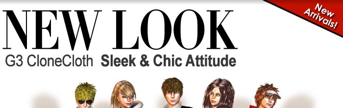New Arrivals! G3 CloneCloth Total New Look