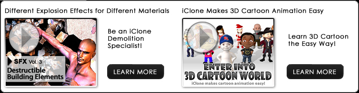 Be iClone Demolition Specialist!