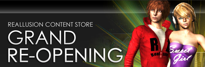 Content Store Grand Re-Opening