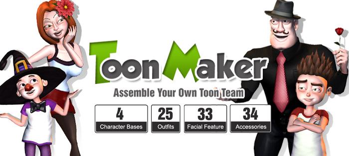 Character Design Animation Toolkit : Iclone must have tool enjoy unlimited content