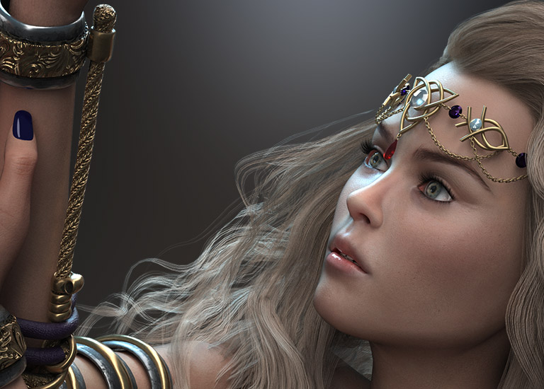 Iray Render Plug-In for Character Creator and iClone